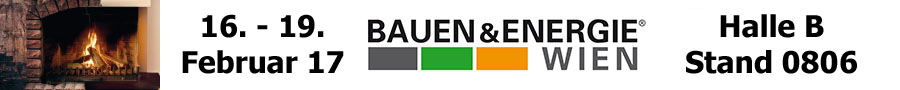 Banner Bauen und Energie Messe Wien 2017