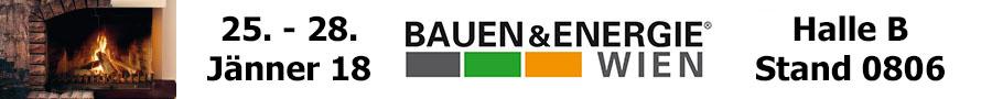 Banner Bauen und Energie Messe Wien 2018