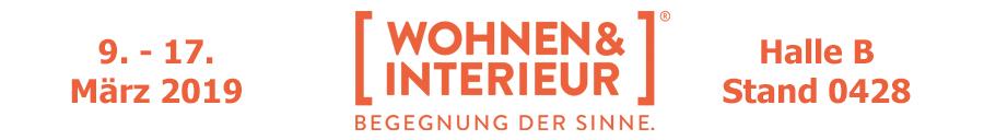 Wohnen & Interieur Messe vom 9. bis 17. März in Halle B 0428