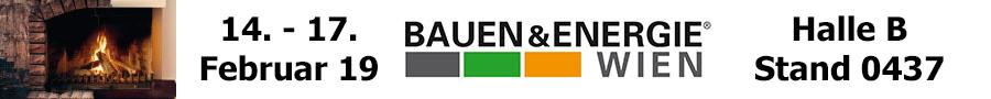 Banner Bauen und Energie Messe Wien 2019
