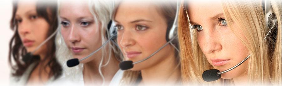 Telefonanlage im Betrieb